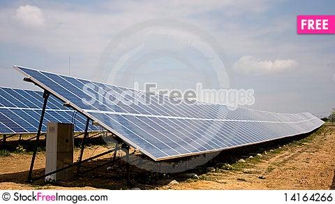 Free Solar Panel Royalty Free Stock Image - 14164266