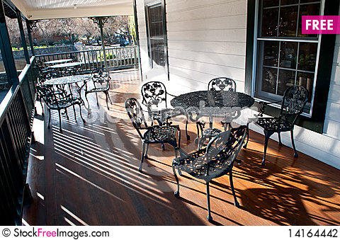 Free Afternoon In Front Porch Stock Photography - 14164442