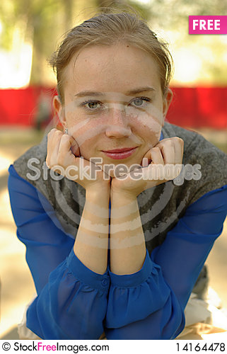 Free Girl Portrait Royalty Free Stock Photos - 14164478