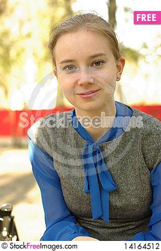 Free Smiling Female Stock Photography - 14164512