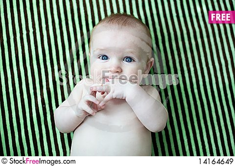 Free Happy Baby Royalty Free Stock Images - 14164649