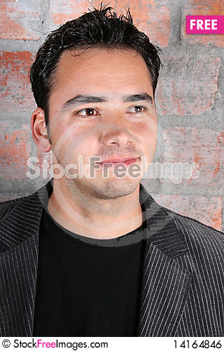 Free Brunette Male Royalty Free Stock Image - 14164846