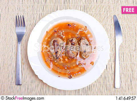 Free Meal Royalty Free Stock Photography - 14164957