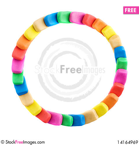 Free Colorful Circle Frame. Copy Space Royalty Free Stock Images - 14164969