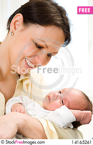 Free Young Mother And Baby Stock Image - 14165261