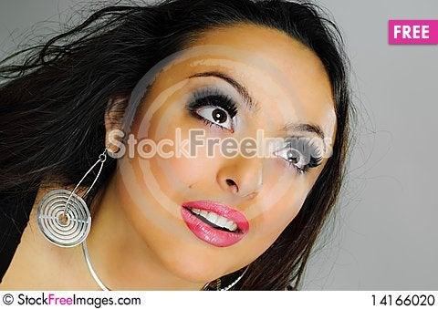 Free Girl With Wonderful Eyes Stock Photo - 14166020