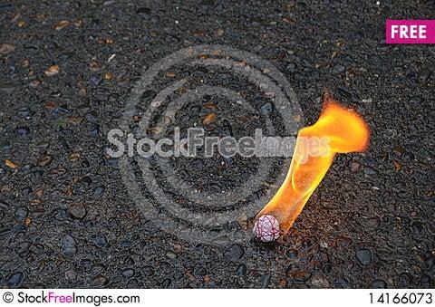 Free Fire Ball Stock Photos - 14166073