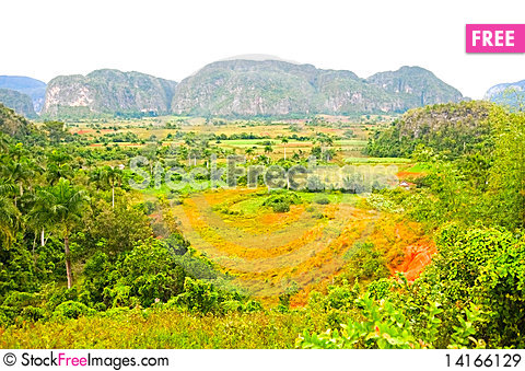Free Vinales Valley Royalty Free Stock Images - 14166129