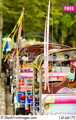 Free Tuk Tuk. Stock Photography - 14166172