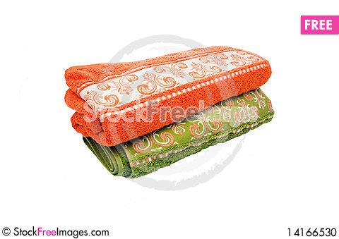Free Bright Towels Stock Photo - 14166530