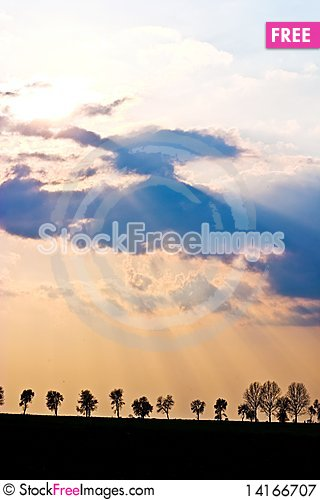 Free Clouds Royalty Free Stock Photography - 14166707