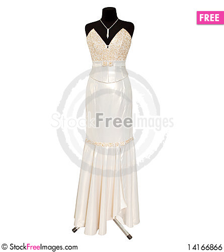 Free Dress On A Dummy Royalty Free Stock Image - 14166866