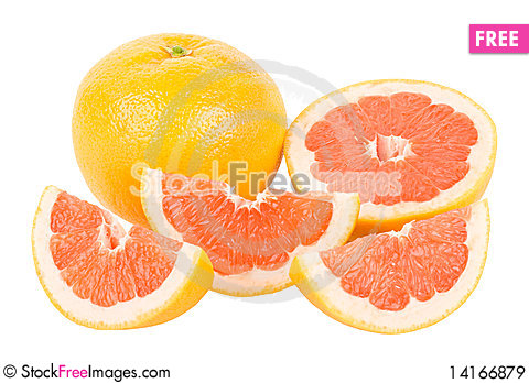 Free Red Grapefruits Royalty Free Stock Images - 14166879