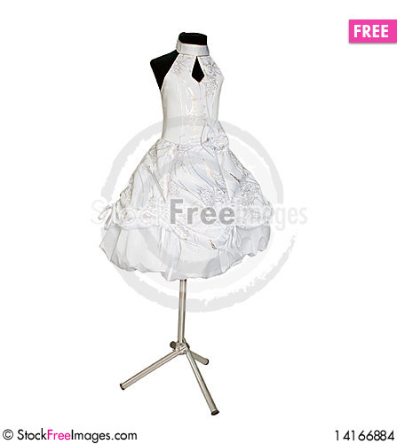 Free Children S Dress On A Dummy Stock Images - 14166884