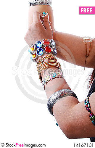 Free Jewelery In Hand Stock Image - 14167131