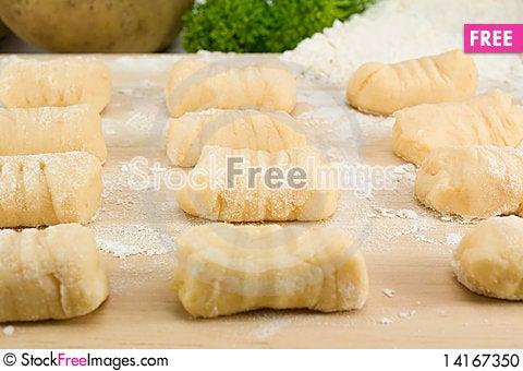 Free Italian Gnocchi Pasta Stock Photo - 14167350