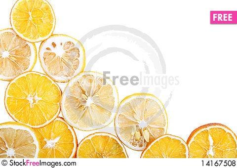 Free Dried Orange Royalty Free Stock Photos - 14167508
