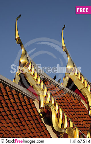 Free Two Gable Apex Stock Images - 14167514
