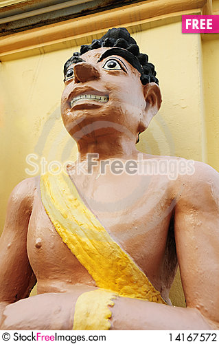 Free Human Sculpture Stock Photography - 14167572