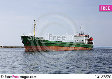 Free Cargo Ship Stock Photo - 14167870