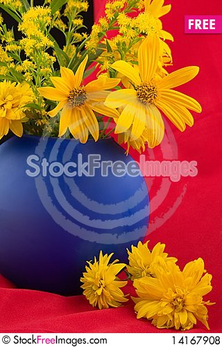 Free Yellow Bouquet Royalty Free Stock Photos - 14167908