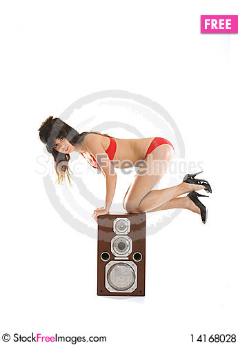 Free A Young And Sexy Female Dj Royalty Free Stock Photos - 14168028