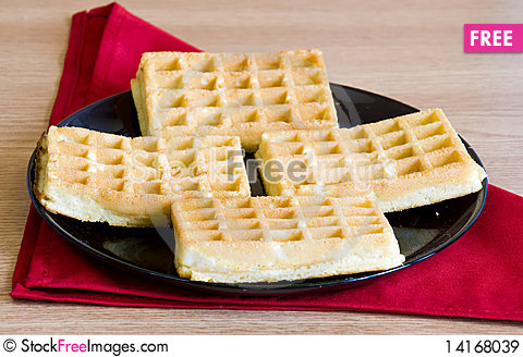 Free Waffles Royalty Free Stock Images - 14168039