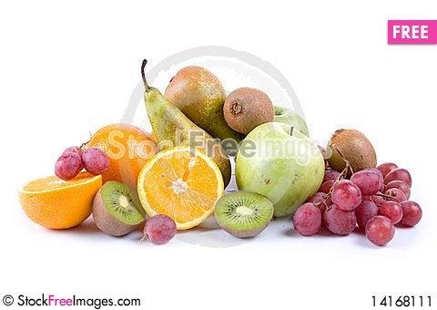 Free Fresh Fruits Stock Image - 14168111