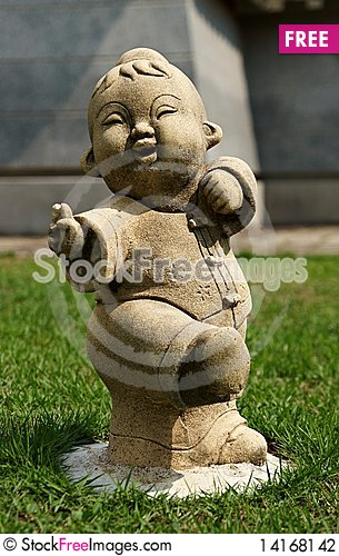 Free Funny Traditional Thai Garden Stock Photography - 14168142