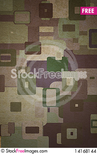 Free Squares On The Grunge Stock Images - 14168144