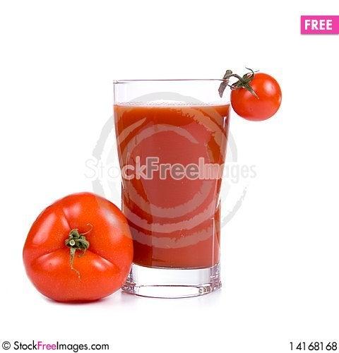 Free Tomato Juice Royalty Free Stock Photos - 14168168