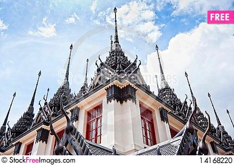 Free Temple Stock Photo - 14168220