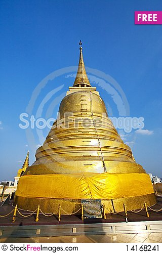 Free Golden Pagoda Stock Image - 14168241