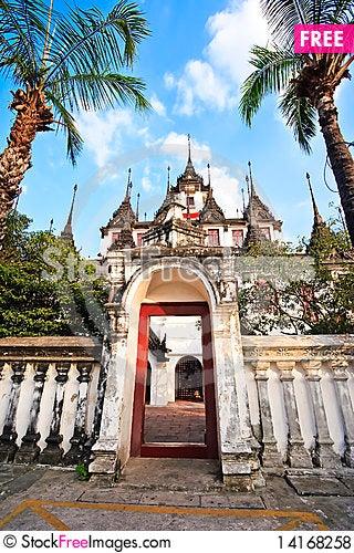 Free Temple Royalty Free Stock Photos - 14168258