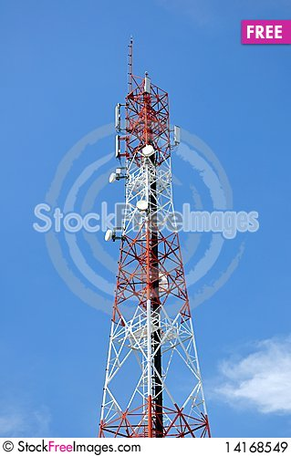 Free Signal Tower Royalty Free Stock Images - 14168549