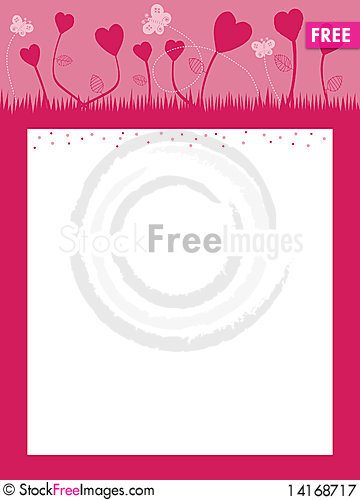Free Heart Landscape Royalty Free Stock Photography - 14168717