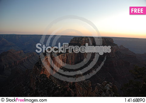 Free Grand Canyon Landscape Stock Photo - 14168890