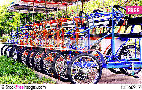 Free Tricycles Royalty Free Stock Photography - 14168917
