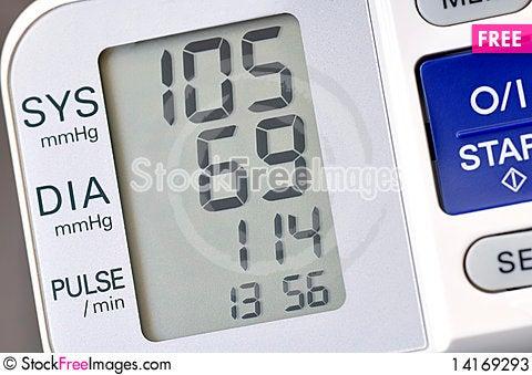 Free Blood Presure Monitor Stock Photos - 14169293