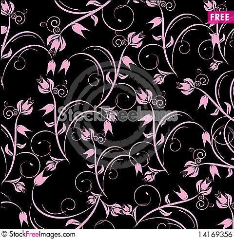 Free Flowers Decorative Design Royalty Free Stock Image - 14169356