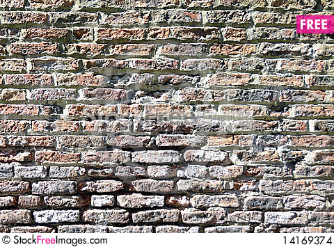Free Brick Wall Stock Images - 14169374