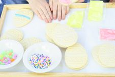 Cookies, Icing And Sprinkles