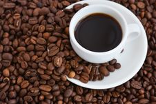 Free Cup Of Coffee Royalty Free Stock Image - 14161106