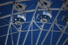 Free Carts Of A Ferris Wheel Up In The Sky Stock Photos - 14161203