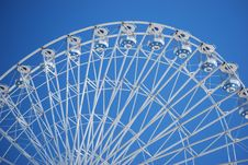 Free The Half Circle In The Sky Of A Ferris Wheel Ride. Royalty Free Stock Image - 14161206