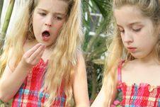 Free Child Eating Sprinkles Stock Photos - 14161213