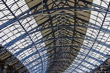 Free Train Station Roof Stock Photos - 14161823