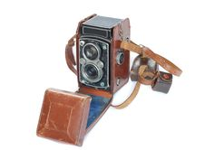 Free Vintage Medium Format Camera Stock Photos - 14162093
