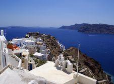 Free Island Santorini Royalty Free Stock Images - 14162179