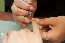 Free Manicure Stock Photography - 14162892